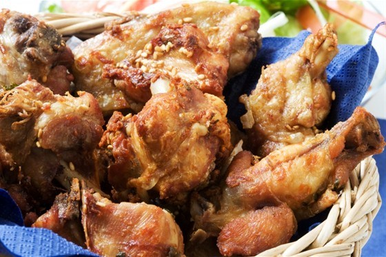 Жареная курица по-южному
