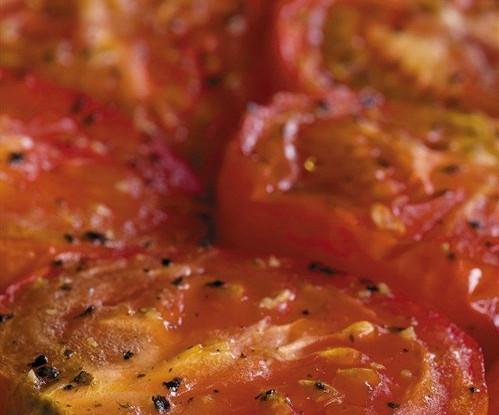 Жареные томатные ломтики