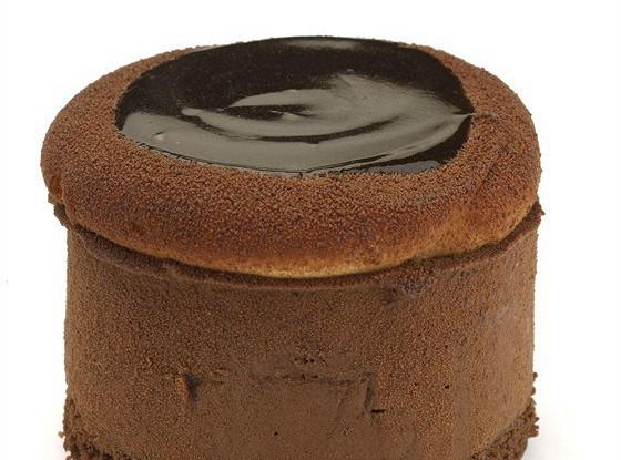 Шоколадное суфле из крема патисьер