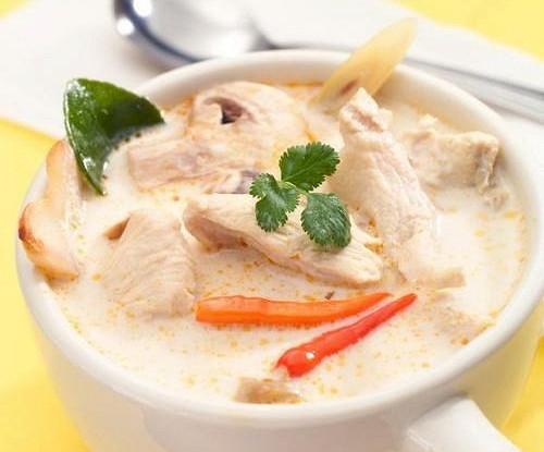 тайский суп том кха рецепт