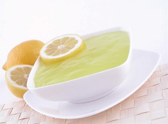 Быстрое лимонное желе