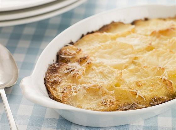 Картофельный гратэн со сливками