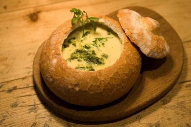 сырный суп рецепт с ветчиной
