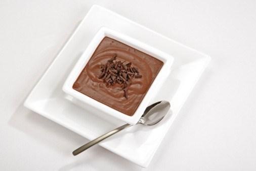Шоколадный пасхальный шербет с бренди