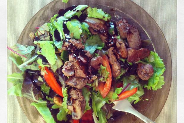 Салат с соусом рецепт