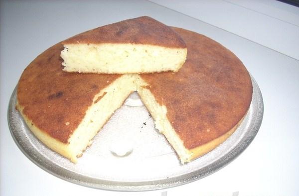 Манный пирог со сметаной