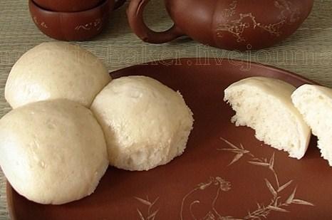 Китайские паровые булочки (Маньтоу)