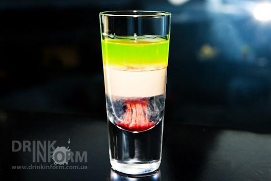 Слоистый коктейль «Хиросима»