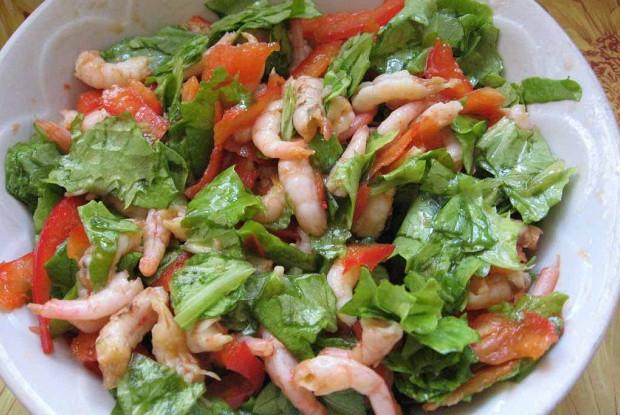 рецепты с салатов с морепродуктами