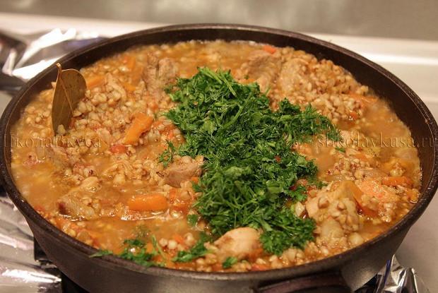 рецепты из гречки с фото пошагово
