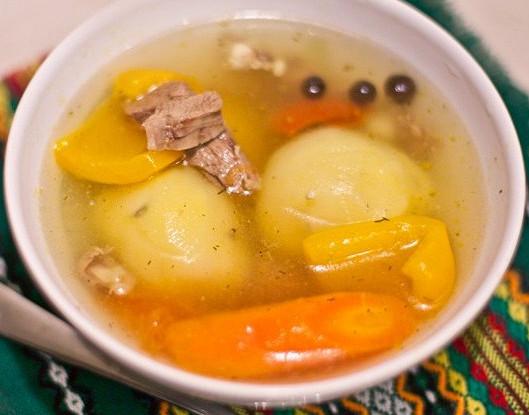 рецепт супы на бараньем бульоне
