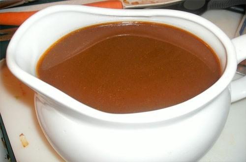 Концентрированный телячий бульон для соусов