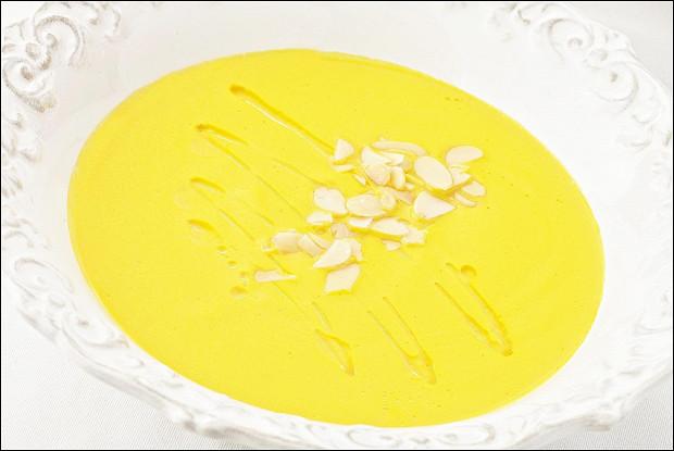 Суп-пюре из тыквы из ресторана BUONO