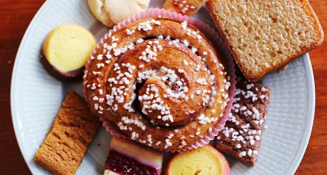 Печенья и булочки для фики