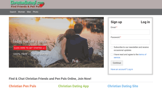 Christian Dating - Register Now for FREE - FirstMetcom
