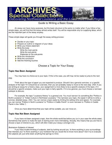 Write my simple essay writing guide