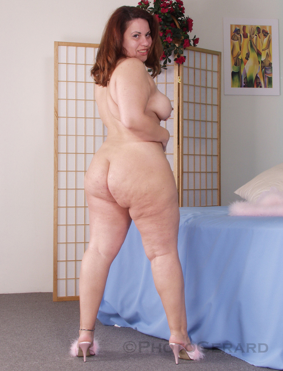 Naked Www.Plus size girl