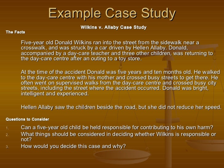 Example for case study