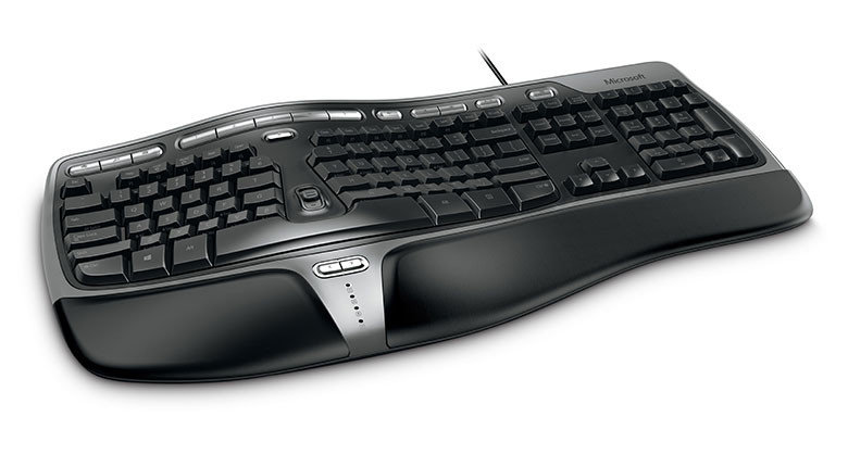 Anleitung microsoft natural ergonomic keyboard 4000