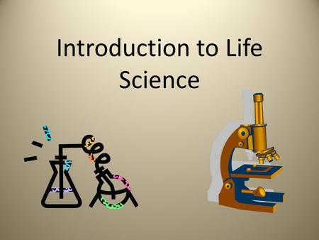 Essay on science and human life