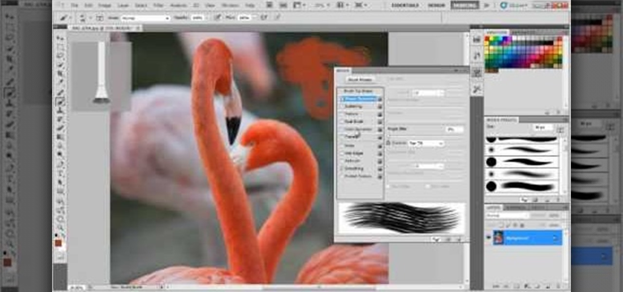 Photoshop Tutorial: How to install photoshop brushes