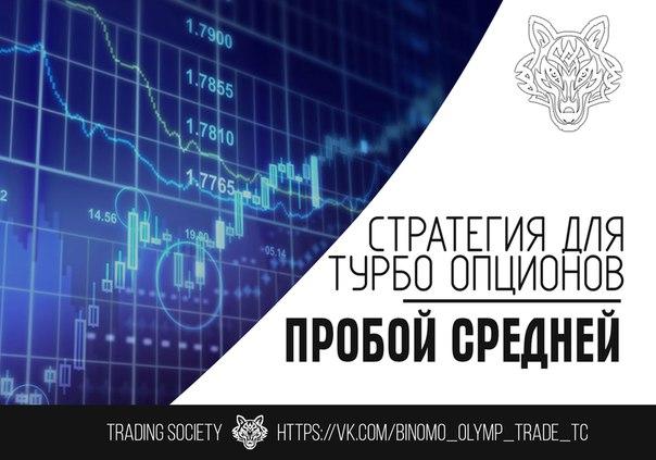 Бинарные турбо опционы стратегии вконтакте