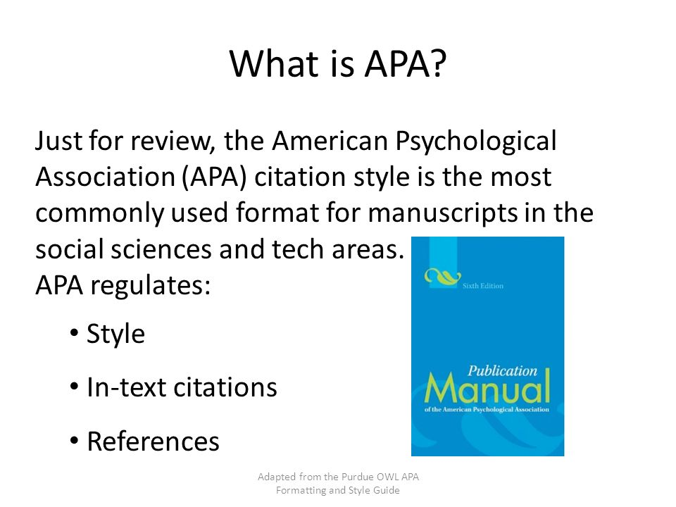 Owl Purdue Apa Works Cited Book - Blogger