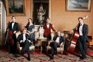 Музыкальный салон во дворце Великого кн. Владимира (билет с открытой датой)