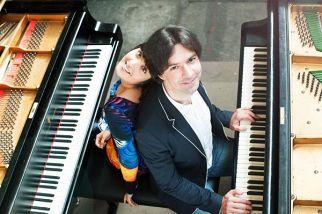 Георгий Громов, Мария Масычева (фортепиано)